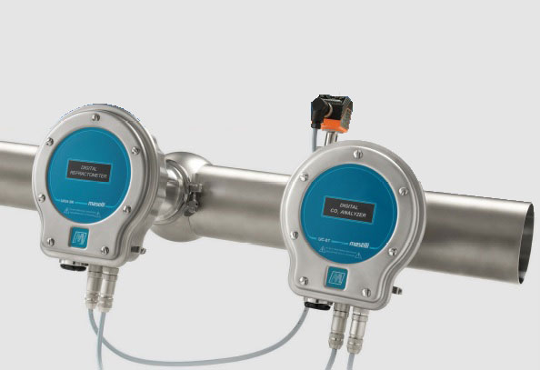 ONLINE-BRIX-AND-CO2-ANALYZER